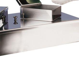 Instrumentenschale mit Knopfdeckel 26 x 15 x 5 cm (L x B x H) 1x1 Stück