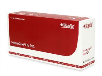 HemoCue Hemoglobin 201 Mikroküvetten 4x50 Stück
