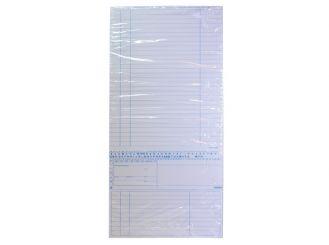 Karteimappe Simplex-Cedip weiß für den Kinderarzt 1x250 Stück
