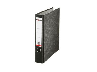 Ordner DIN A4 80 mm schwarz Pappe 1x1 Stück