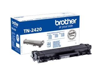 Toner Brother TN-2420 schwarz, 3000 Seiten 1x1 Stück