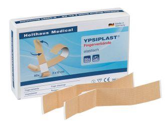 YPSIPLAST® Fingerverband, 2 x 12 cm, elastisch, hautfarben 1x50 Stück