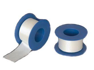 INTERMED Silk Verbandpflaster, 5 m x 5 cm 1x6 Rollen