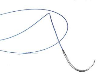 Dafilon® DSMP13 USP 5/0, metric 1 45 cm blau 1x36 Stück