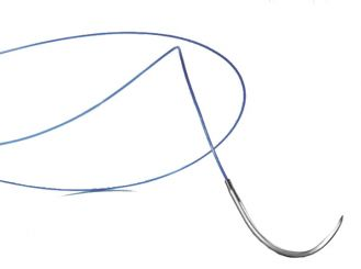 Dafilon® DS16 USP5/0, metric 1 45 cm blau 1x36 Stück
