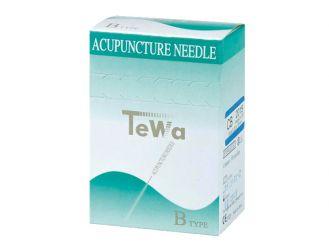 TeWa Akupunkturnadeln B-type, 0,20 x 15 mm, hellblau 1x100 Stück