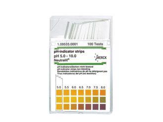 pH-Indikatorstäbchen 5-10 Neutralit nicht blutend, 1x100 Stück