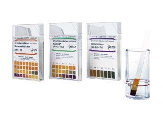 pH-Indikatorstäbchen nicht blutend pH 4 - 7 1x100 Stück