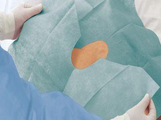 Foliodrape® Protect selbstklebende Lochtücher 45 x 75 cm 1x65 Stück