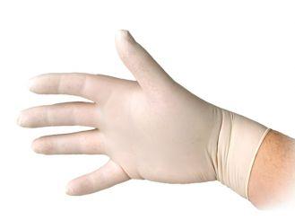 Latex-Handschuhe Sentina® Ambidextrous, puderfrei, Gr. S 1x100 Stück