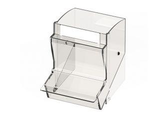 Einzelschütte klein für PicBox®, mit Staubschutzdeckel 1x1 Stück