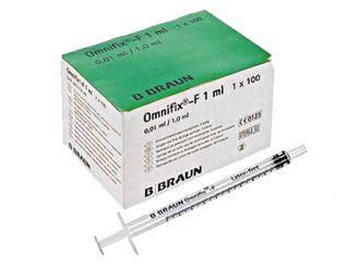 Omnifix® - F Solo ohne Kanüle 1 ml 1x100 Stück