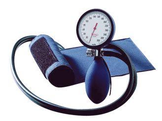 Bluddruckmessgerät boso-clinicus II, blau, Standard-Manschette 1x1 Stück