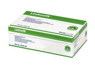 Leukosilk® 5 m x 2,50 cm ohne Schutzring weiß 1x12 Rollen